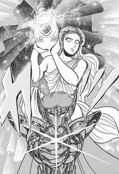 Saint Seiya, Aquarius Camus. manga version