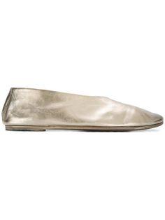 strap ballerinas - Metallic Marsèll bvlAlCL4