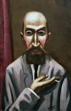 Max Beckmann, Portrait of a Turk 1926