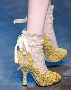 Dolce & Gabbana's Marie Antoinette inspired shoes