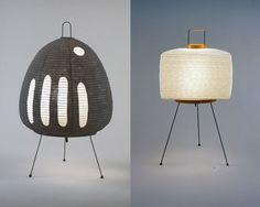 Akari Table Lamp - Isamu Noguchi - Luminária de mesa, iluminação by Rodrigo Barba, via Flickr