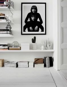 Workspace inspiration | This chick's got style