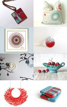 red and blue by Jen B. on Etsy--Pinned with TreasuryPin.com