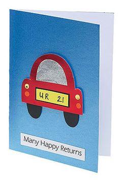 21 car card