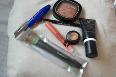 Getting ready – My Look Today + My MakeUp Products