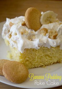 Calling All Banana Pudding Lovers! This Banana Pudding Poke Cake recipe brings together the best of both worlds with Banana Pudding and Poke Cake. This poke cake recipe is an easy easy, crowd-pleasing Dessert.