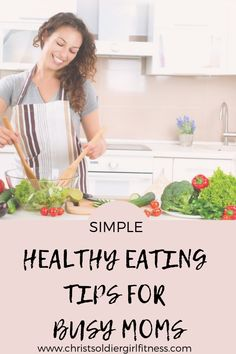 Healthy habits for busy moms, busy moms tips/ easy meal planning tips/ mom hacks/ quick and easy healthy eating tips, stay healthy as a busy mom Healthy Eating Habits, Healthy Lifestyle Tips, Healthy Living, Body After Baby, Health And Fitness Tips, Fitness Gear, Fitness Diet, Nutritious Snacks, Intuitive Eating