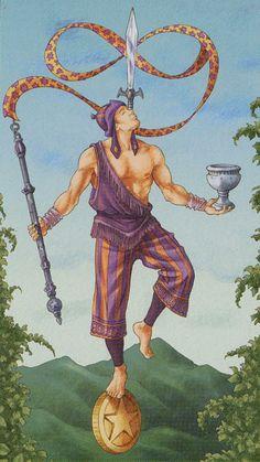 I - Le magicien - Tarot des 78 portes par Antonella Platano & Pietro Alligo