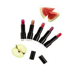 Did you know it's estimated that women ingest up to 8 kgs of lipstick in their lifetime? When selecting lip care products, try to choose products that are formulated with the most wholesome, botanical ingredients possible. Our Smoothed Over Lipsticks feature skin-conditioning watermelon and apple extracts to help hold in moisture, and peptides to help lips look plumper, with colour that's simply sublime.