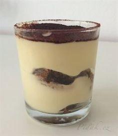 Picture of Recept - Fantastické Tiramisu - pohárová varianta Sweet Bar, Ice Cream Candy, Something Sweet, Cake Cookies, No Bake Cake, Nutella, Tiramisu, Cookie Recipes, Cheesecake