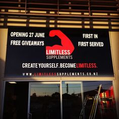 Less than a month to go until our brand new retail store opens in Christchurch!