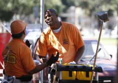 San Jose gives the poor and unemployed jobs cleaning up downtown:  #GoodNews