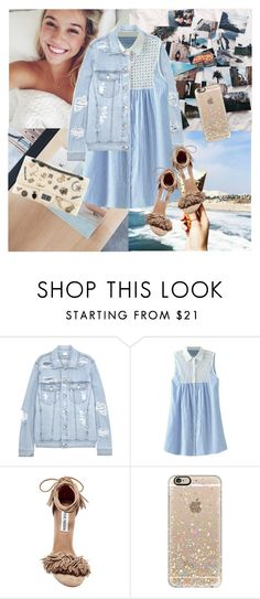"""""""Don't even try destroy my happiness !"""" by marabellax ❤ liked on Polyvore featuring SJYP, Steve Madden, Chanel and Casetify"""