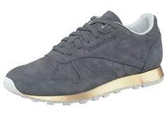 6e592180116d46 CL LTHR New Metal Sneaker grau von Reebok Classic  Entdecke und shoppe  dieses Produkt für € bei Stylight.