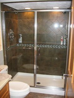 Semi Frameless Neo Angle Shower Enclosure With Both Panels
