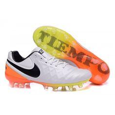 Nike Tiempo Legend VI FG, Nike Tiempo Legend blanc noir jaune.