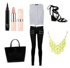 """""""Untitled #9"""" by andreaa16-00 on Polyvore featuring Paige Denim, Warehouse, Kenneth Cole, Lacoste and Alexa Starr"""