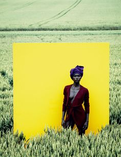 Jeneil Williams for Vogue Germany | Trendland: Design Blog & Trend Magazine