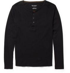 Nudie JeansFairtrade Organic Cotton-Jersey Henley T-Shirt