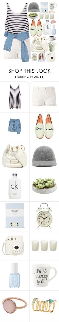 """1958. White Summer"" by chocolatepumma ❤ liked on Polyvore featuring T By Alexander Wang, Del Toro, Marc by Marc Jacobs, STELLA McCARTNEY, Calvin Klein, Ethan Allen, Laura Ashley, Newgate, Fujifilm and Casa Couture"