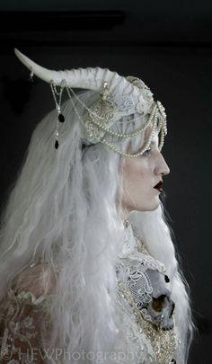 headdress by Hysteria Machine on etsy