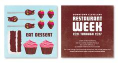 Cleveland Restaurant Week - Mark Nizinski :: Graphic Design