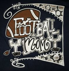 175f0f20 Football Mom Ladies T-Shirt Adult S Small Sassy Frass Brand New without Tag  #