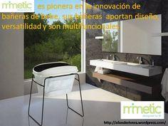Mimetic es pionera en la innovación de bañeras de bebe, sus bañeras  aportan diseño, versatilidad y son multifuncionales.