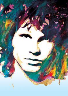 Jim Morrison Artwork