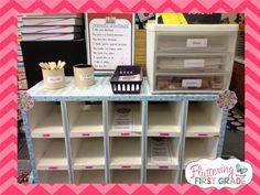 Fluttering Through First Grade: Message Center ~ Class Letter Writing