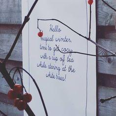 28 vind-ik-leuks, 1 reacties - @thuis.bij.lin op Instagram: '✖ Druilerige zondag, niks aan. Heb dan liever sneeuw en schaatsen op natuurijs!  #winter #homedeco…' Winter Time, Home Deco, Cosy, Tea Cups, Instagram, Decor, Decoration, Home_decor, Decorating