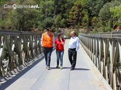 Cauquenesnet.com #DiaNoticias: MOP habilitó puente mecano en el límite precordill...