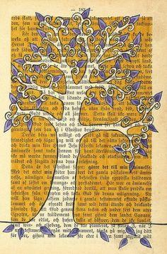Book page art! by sugar lelo