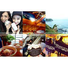 【tomo_yan】さんのInstagramをピンしています。 《こんにちは10月🍂#autumn * 夏を忘れられない私は、海を求めてプチ南下♡ 千葉上陸ぅ〜 特急🚃旅たのぴぃ〜 なつみは午前中からお酒しこむよ〜 わたしの旅のお供はゆで卵ぉ〜 パルムは2つ食べたよ〜 タンタン麺は1杯だよ〜 * #勝浦#海#山#sea#surf #夏が好きだよ#でも秋も好きだよ #とりあえず夏生がラブだよ #美女#だけどうるさいのが難点 次は軽井沢ジャム作り旅。笑❤️》