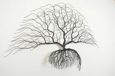 Metal tree wall art, Tree of life decor. Bonsiree Art the luxury home decoration. Works of art called Bonsiree is a luxury and individual objects made from copper wire. All objects are handmade therefore all of them is unique, like you can't find exactly the same tree in the nature. #handmadehomedecor