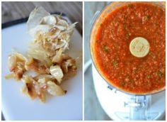 Roasted Garlic Blender Salsa | mountainmamacooks.com