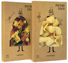 Pietro Gala Pasta Branding by Fresh Chicken.