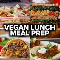 6 Vegan Lunch Meal Preps by Tasty