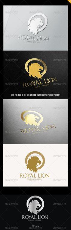 Royal Lion Logo — Vector EPS #transport #elite • Available here → https://graphicriver.net/item/royal-lion-logo-/5409327?ref=pxcr