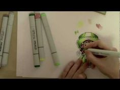 In this video Irina shows you how she colors the La-La Land Crafts Irish Marci stamp with Copic Markers.    To purchase La-La Land Crafts products please visit your local craft store or buy directly from our online store at http://www.lalalandcrafts.com/main.sc.    For more design ideas please visit our bog - http://www.lalalandcrafts.blogspot.com/.    Join us on Faceb...
