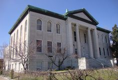 Old Carnegie Library in Joplin, Missouri -- I loved this library!
