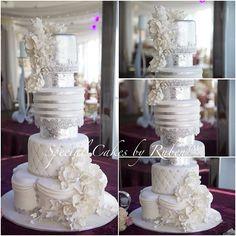 """Todays wedding cake.  #cake #specialcakesbyruben #cakedesigner #fun #crazy #workofart #beauty #losangeles #hollywood #instagram #instafood #yummy…"""