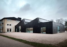 Primus Arkitekter transforms factory into a library and cultural centre