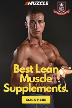 In this in-depth article from Muzcle, we tell you everything you need to know about the best lean muscle supplements. 😉 #leanmusclesupplements #muzcle Fitness Facts, You Fitness, Physical Fitness, Health Fitness, Muscle Building Tips, Build Muscle Mass, Gain Muscle, Shred Fat, Ripped Muscle