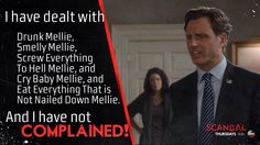 Scandal - Ahh, the reign of drunk Mellie!
