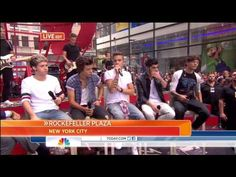 One Direction Interviewed on Today Show - YouTube