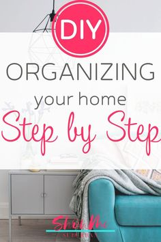 Want to start organizing your home, but not sure how? This simple tutorial is filled with tips and ideas on how to start organizing your home. Plus free printables to help you declutter and get organized! Organized Entryway, Organized Bedroom, Organized Kitchen, Entryway Organization, Home Organization Hacks, Laundry Room Organization, Paper Organization, Organizing Tips, Organizing Your Home