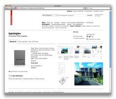 Online-Shop für den Birkhäuser Verlag, Basel (2009): Produktseite mit Vorschaubildern