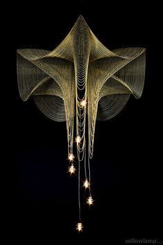 """Willowlamp (A favorite from my """"...& Turn on the Lights"""" board - to see that board, click this pin. --Anthea)"""