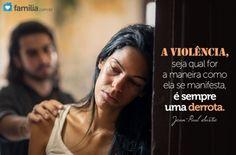Importante analisar muito bem a questão da violência a fim de quebrar esse ciclo e trabalhar no sentido de eliminá-lo em seu casamento. A violência do...